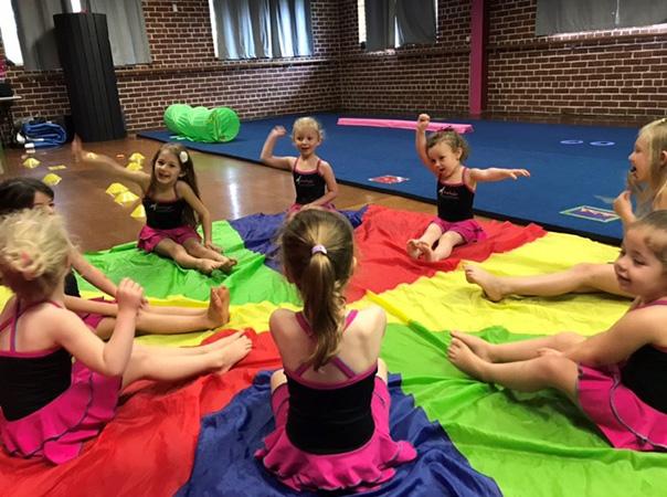 Pre-school-acro-dance
